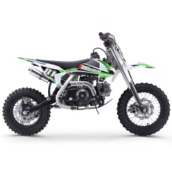 70cc 4T - 90cc 4T - Mini dirt enfant Pocket Bike 70cc - MX70 WHITE EDITION