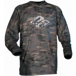 Maillot Cross Adulte Maillot SHOT FREERIDE Camo/Kaki