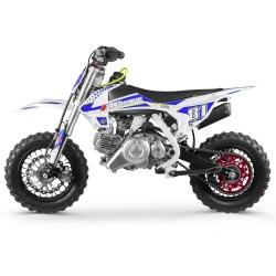50cc 2T - 60cc 4T - 70cc 4T - Mini moto cross enfant Pocket Bike 60cc - MX60 WHITE EDITION