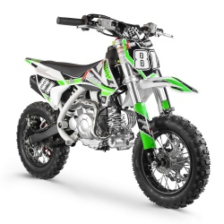 50cc 2T - 60cc 4T - 70cc 4T - Mini moto cross enfant Pocket Bike 60cc - MX60 WHITE EDITION