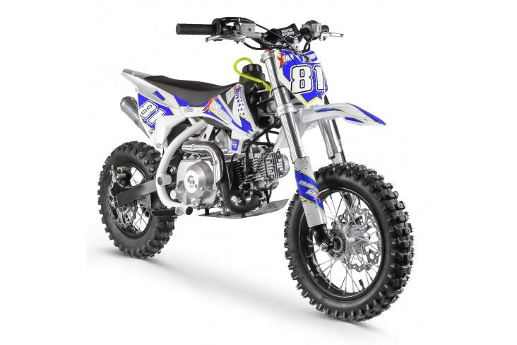 Pocket Bike 70cc - MX70 WHITE EDITION