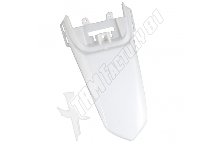 Garde boue arrière dirt 110 / 90cc Blanc