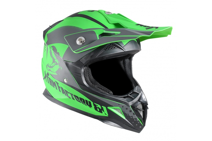 Casque enfant cross homologue XTRM Factory
