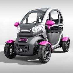 Voiture sans permis électrique MONTÉE Pink Edition