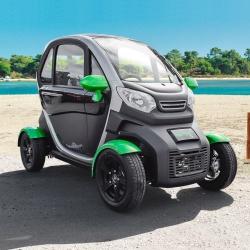 Voiture électrique sans permis KENWEE voiture sans permis électrique à partir de 14 ans verte