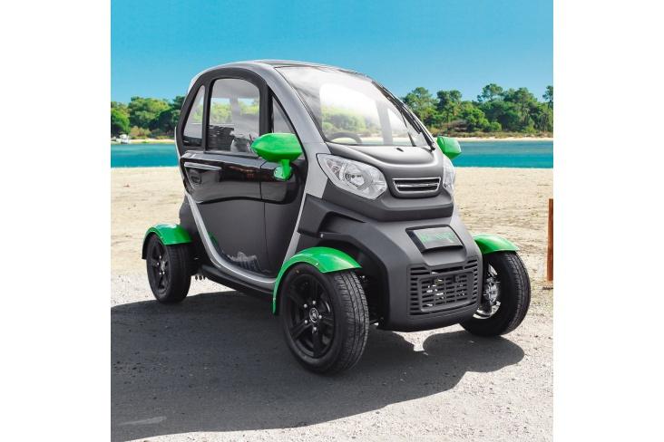KENWEE voiture sans permis électrique à partir de 14 ans verte