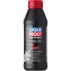 Pièces détachées Huile de fourche 5W Light 100% Synthèse LIQUI MOLY 1L