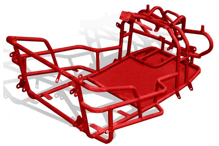 Chassis cadre buggy 110cc enfant 2017