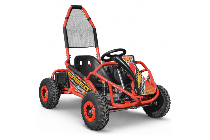 Karting électrique 1000W 48V 20Ah - SPEEDKART
