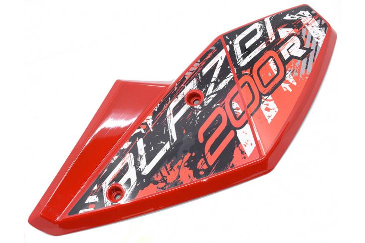 Garde boue arrière droit buggy 200cc rouge