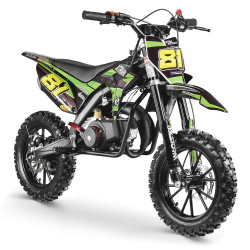50cc 2T - 60cc 4T - 70cc 4T - Mini moto cross enfant Pocket Bike - MX STORM