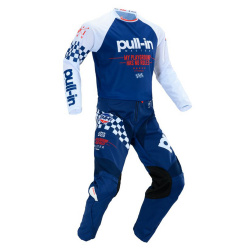 Accueil Ensemble maillot + pantalon PULL-IN Challenger NAVY RED