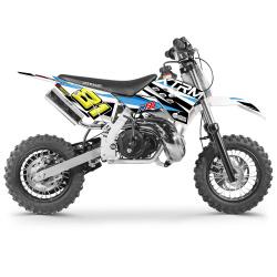 50cc 2T - 60cc 4T - 70cc 4T - Mini moto cross enfant Mini motocross enfant M50 3.5cv - 50cc 2T 10/10