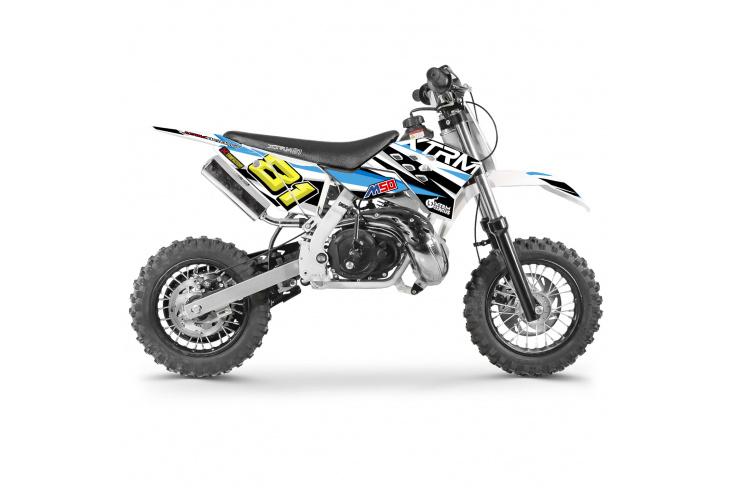 Mini motocross enfant M50 3.5cv - 50cc 2T 10/10