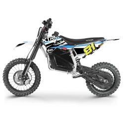 Moto électrique Moto cross électrique 1200W pour enfant - M50