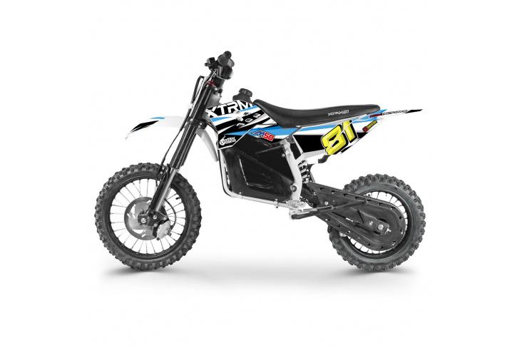 Moto cross enfant électrique 1200W