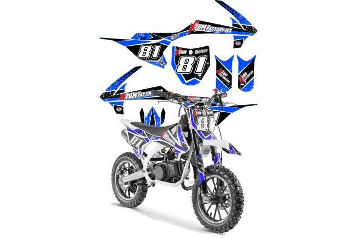 Kit déco Pocket Bike MX