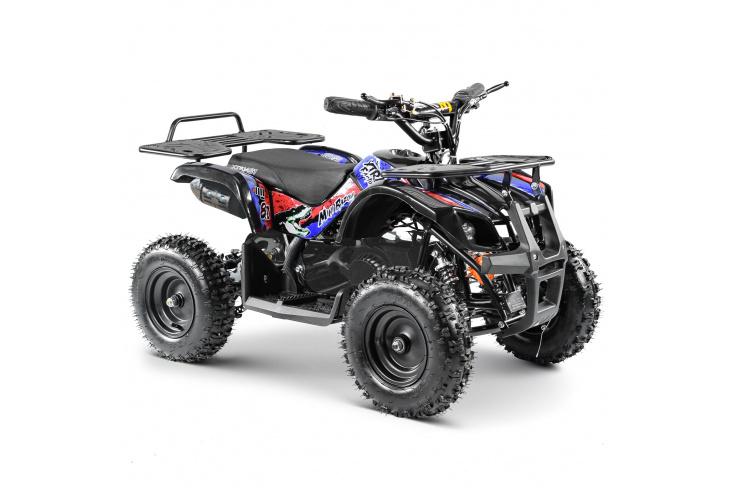Pocket quad démarreur électrique - MINI BAZOU 50cc