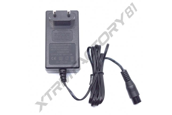 Chargeur de maintient 12v 1.0 A pour Pocket Quad thermique