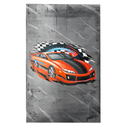 MEUBLE Tapis FAST AND FURIOUS chambre enfant