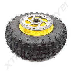 Pièces détachées  Roue avant de tracteur complète avec disque de frein