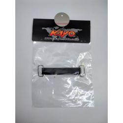 N / Faisceau, bobine et CDI Sangle caoutchouc 110mm pour batterie