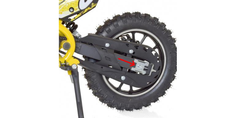Tuto : Régler la chaine d'un pocket bike