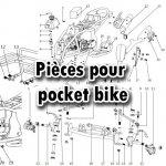 Pièces pocket bike