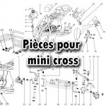 Pièces mini cross