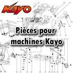 Pièces pour machines Kayo
