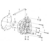 Y / Carter moteur