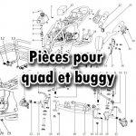 Pièces quad et Buggy