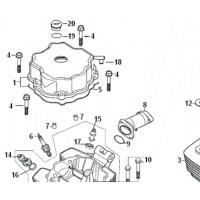 X / Culasse et cylindre